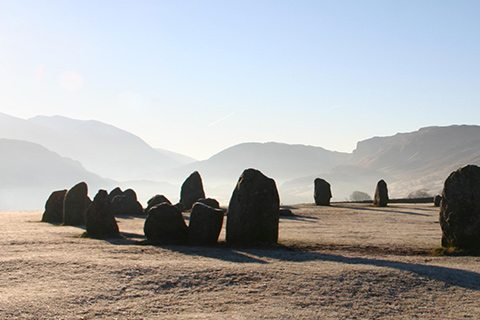 Hike to Castlerigg Stone Circle, Keswick. 15 min walk from Scots Pine holiday cottage.